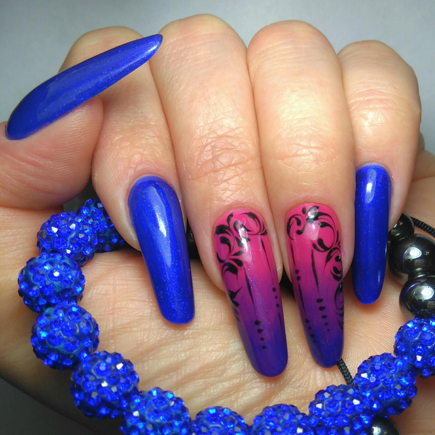 необычное наращивание ногтей фото природе сомики
