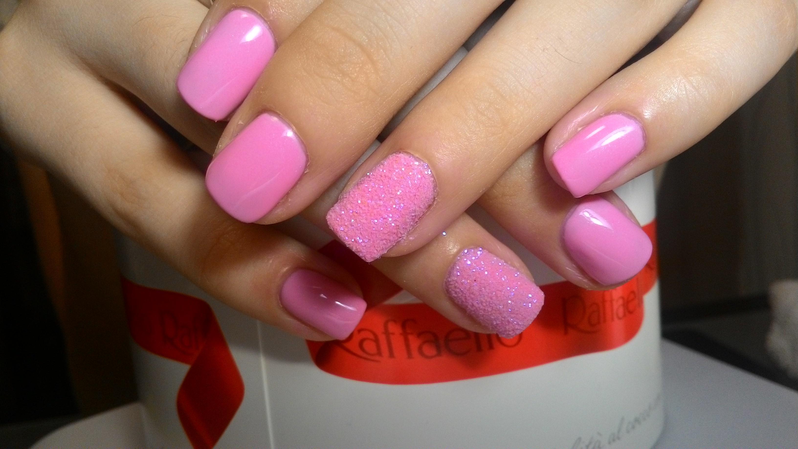 Сахарный эффект на ногтях фото