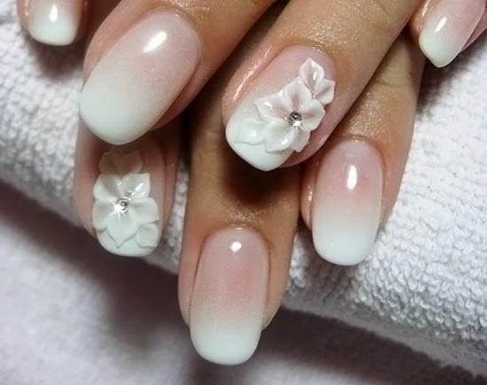 Стильные ногти френч