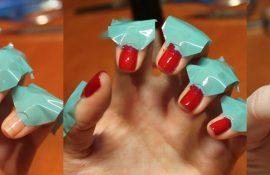 Как сделать гель-лак на короткие ногти?