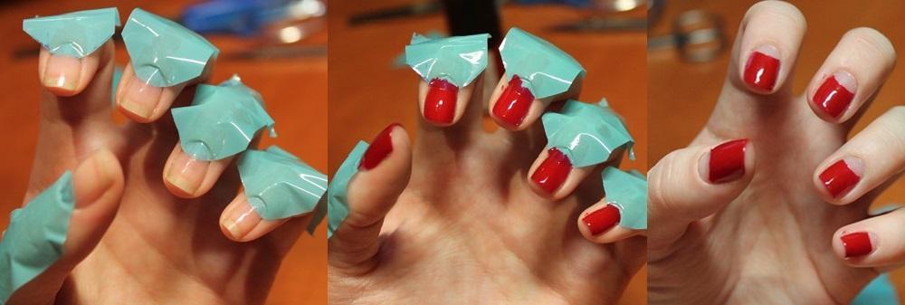 Как сделать самой себе ногти гель лаком 231