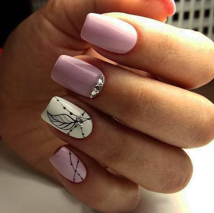 Идеи маникюра с гелем на короткие ногти