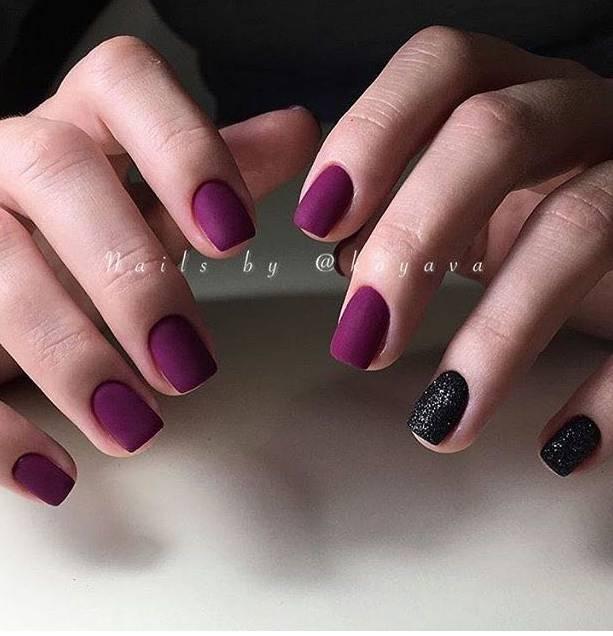 Матовый лак для коротких ногтей