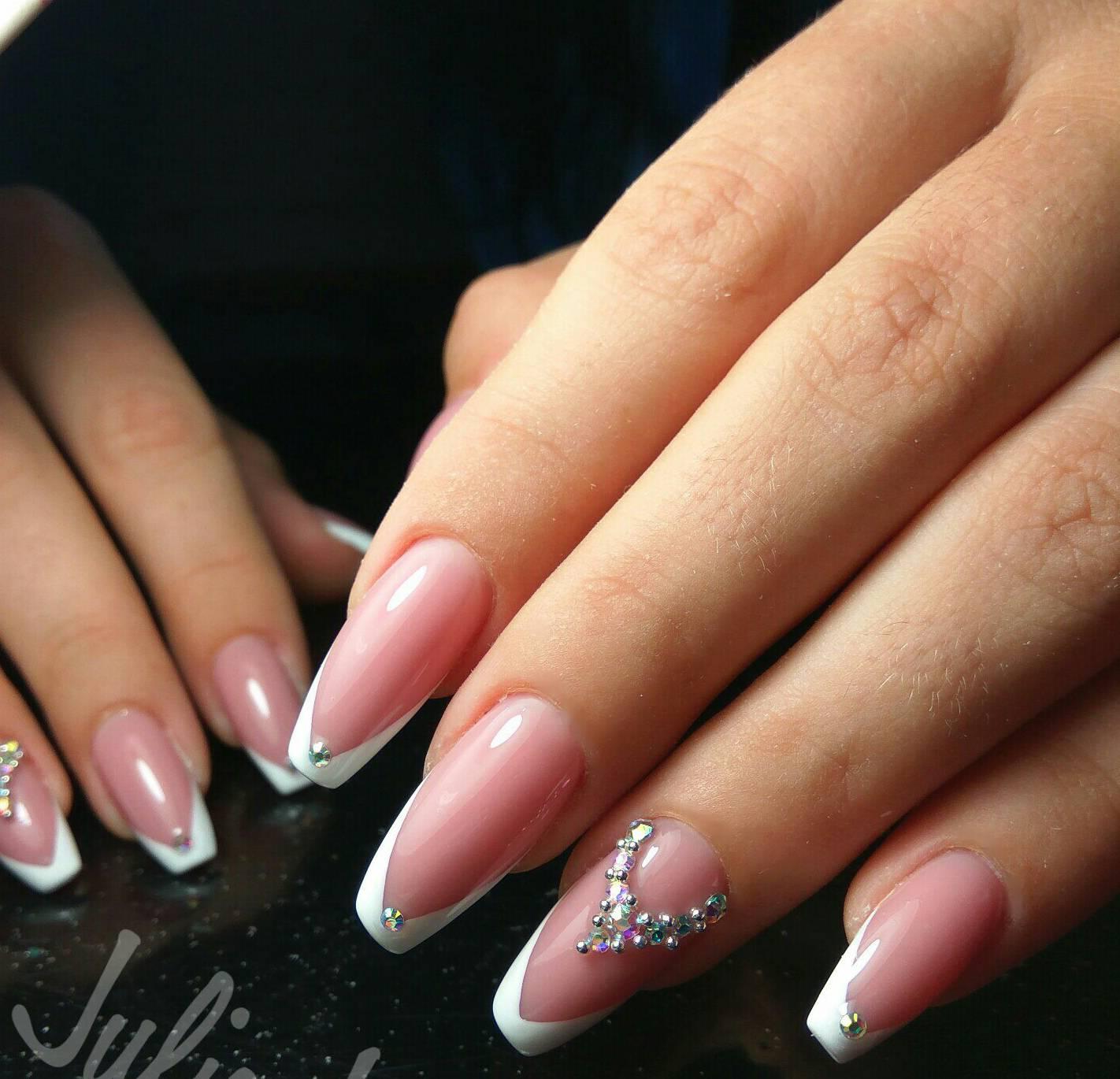 Ногти нарощенные фото: 100 фото, дизайн нарощенные ногти 23