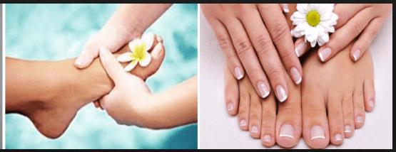 Как отбелить ногти в домашних условиях на ногах