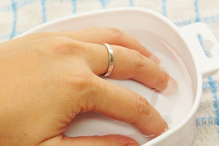 Солевая ванночка для отбеливания ногтей