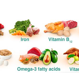 Витамины и минералы для ногтей