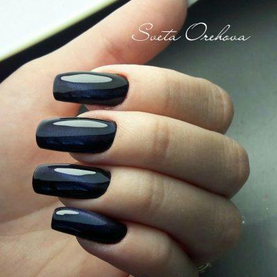 Магнитный дизайн для наращенных ногтей
