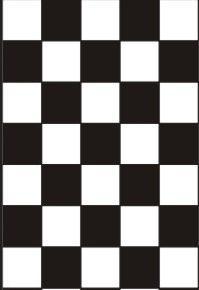 шахматный маникюр