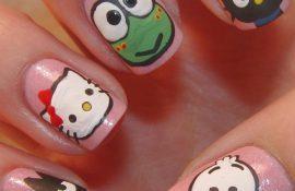 Животные на ногтях