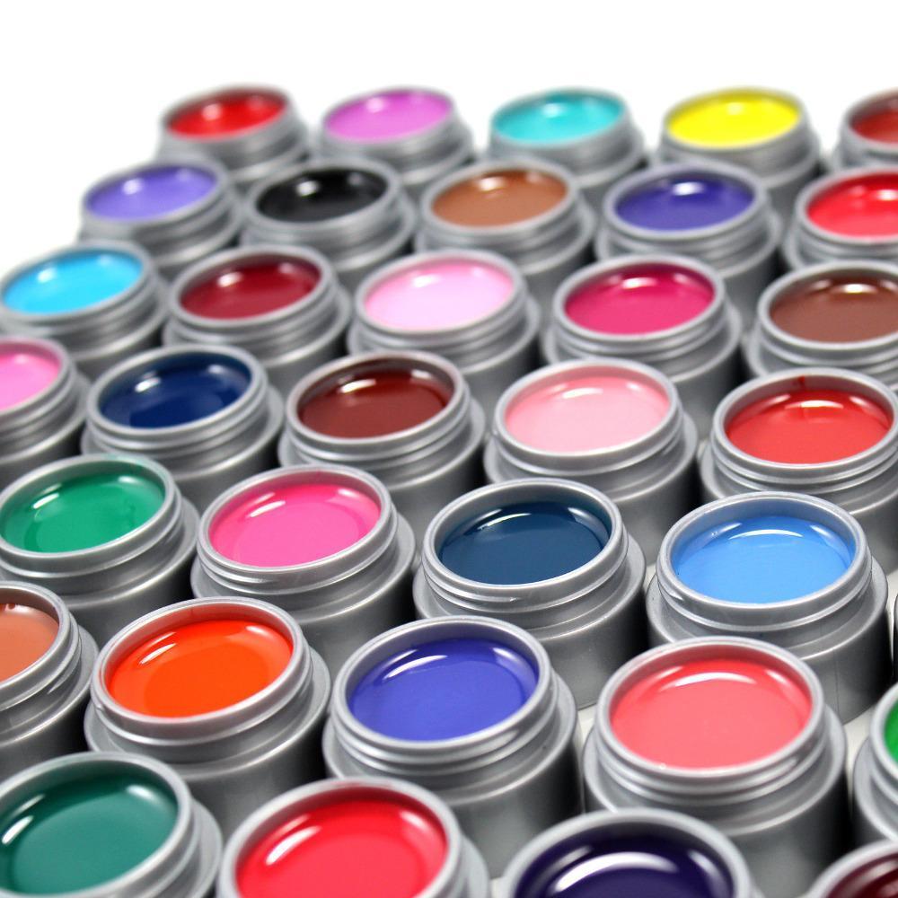 цветная гель краска для ногтей