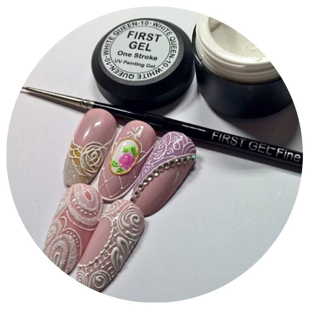 гель паста для ногтей