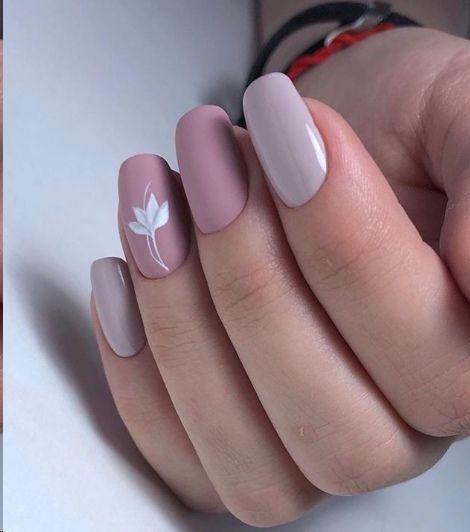 Классный дизайн ногтей с рисунком