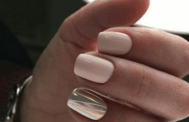 Дизайн ногтей зима 2020