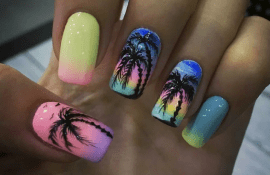 Колхоз-стайл или зачем девушки красят ногти на отдых.