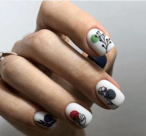 Актуальный дизайн ногтей для весны-2020