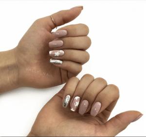 Звезды на ногтях: 150+ идей для стильных и модных женщин