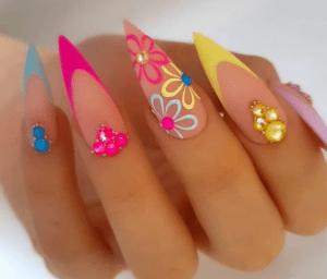 30 великолепных французских дизайнов ногтей