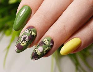 Цвета радуги в весенне-летнем дизайне маникюра. 15 модных фото-идей