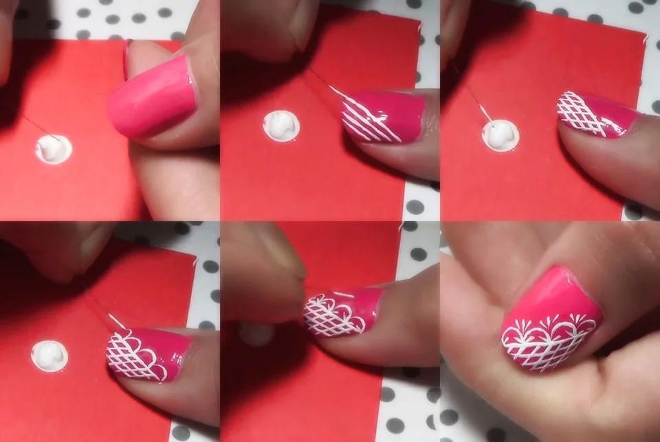 Как научиться делать рисунки на ногтях?