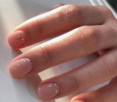 Матовые новинки на разные формы ногтей