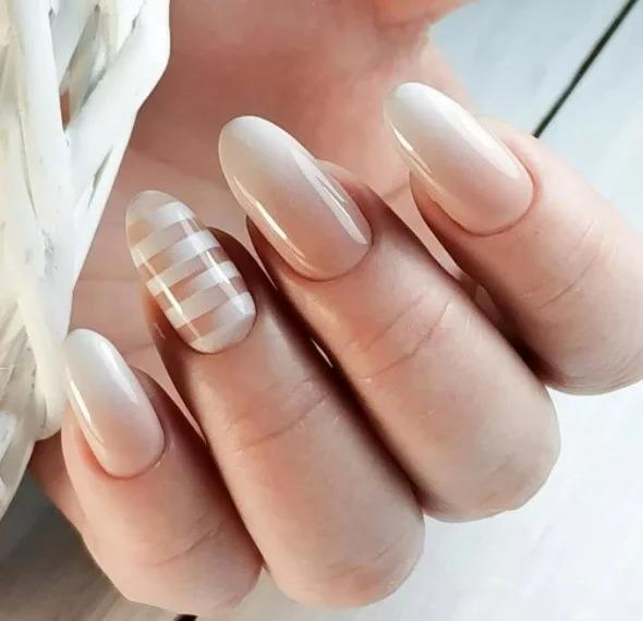 Нежный маникюр, 29 идей модных дизайнов ногтей + фото.