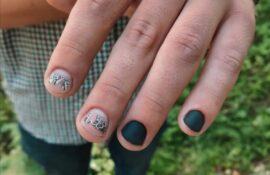 В «моду» входит мужской маникюр — декоративные ногти и стемпинг