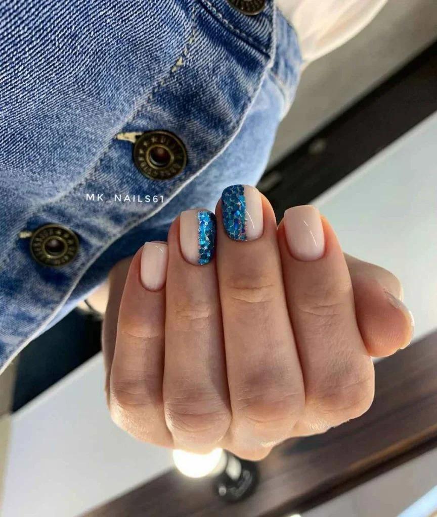Свежая подборка идей маникюра на короткие квадратные ногти 2021