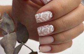 Зимний маникюр. Красивые дизайны ногтей, модные идеи, стильные оттенки, подборка фото 2021.