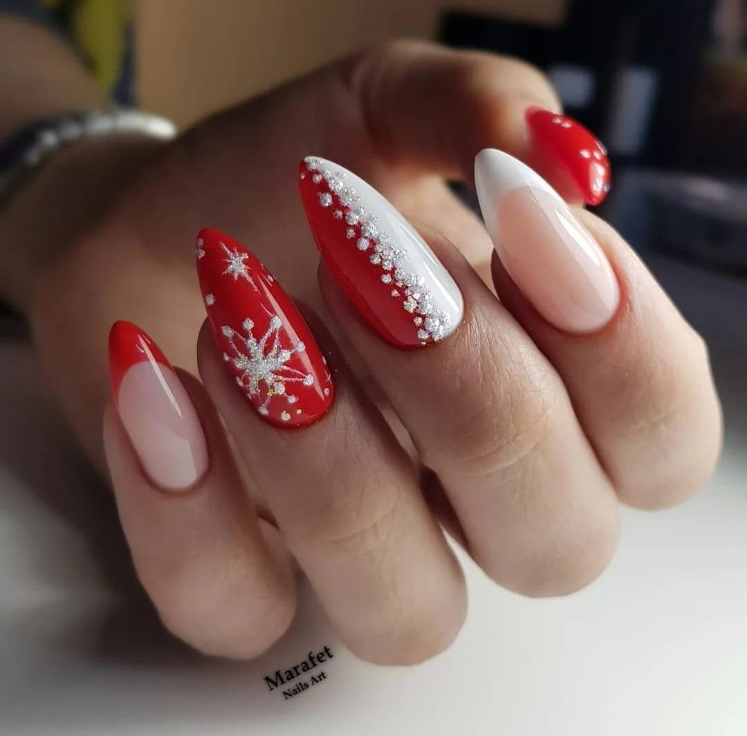Подборка модного маникюра. Стильные дизайны, идеи ногтей, зимние оттенки, фото.