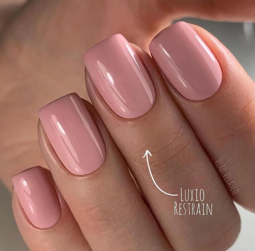 Светлый маникюр: Идеи ногтей, дизайна, розовые оттенки, подборка фото.