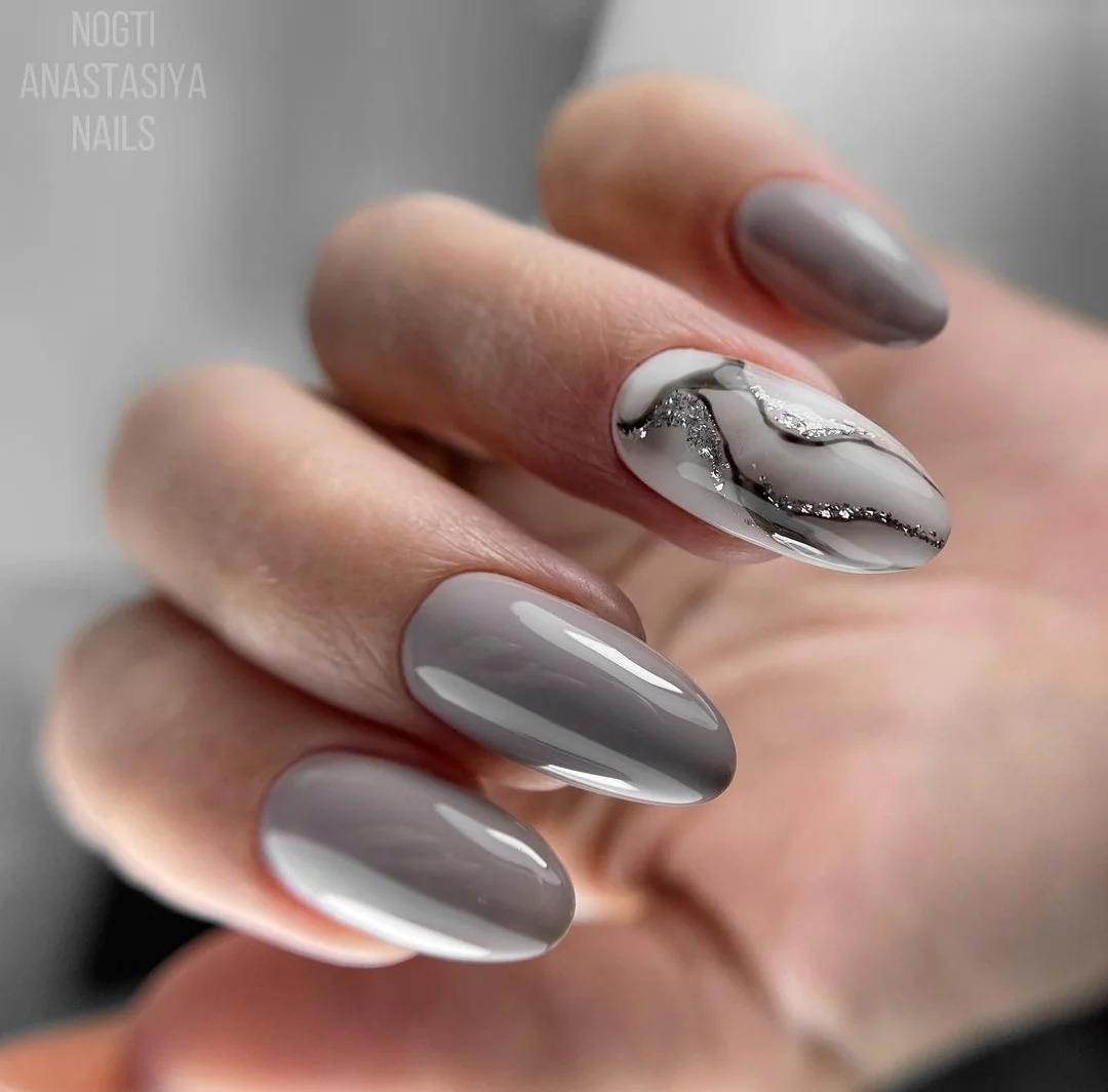 Нежный маникюр, 31 идея модного покрытия ногтей, актуального на сегодня, зимняя подборка, фото 2021.