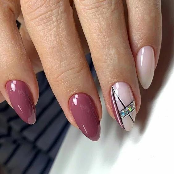 Пыльная роза. Изысканный оттенок ногтей для женственных особ- идеи маникюра