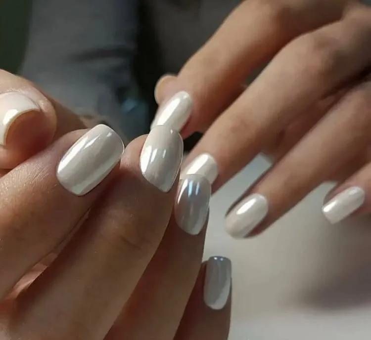 Жемчуг на ногтях вместо дорогого украшения: дешёво и красиво