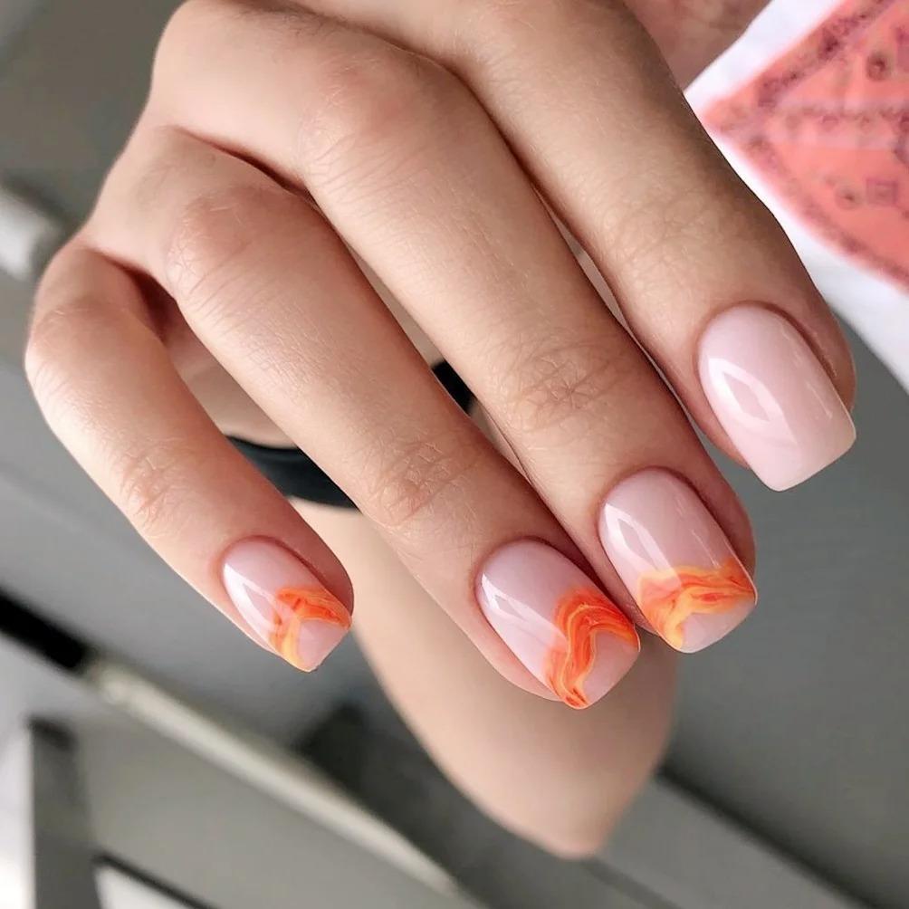 Нюдовый маникюр — выбор стильных женщин: топовые идеи и новинки бежевого дизайна ногтей весна-лето 2021