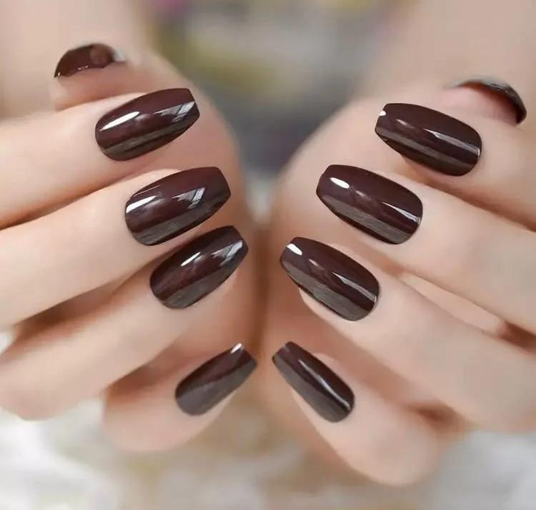 Сохраняем фигуру: шоколад в маникюре вместо лишних каллорий