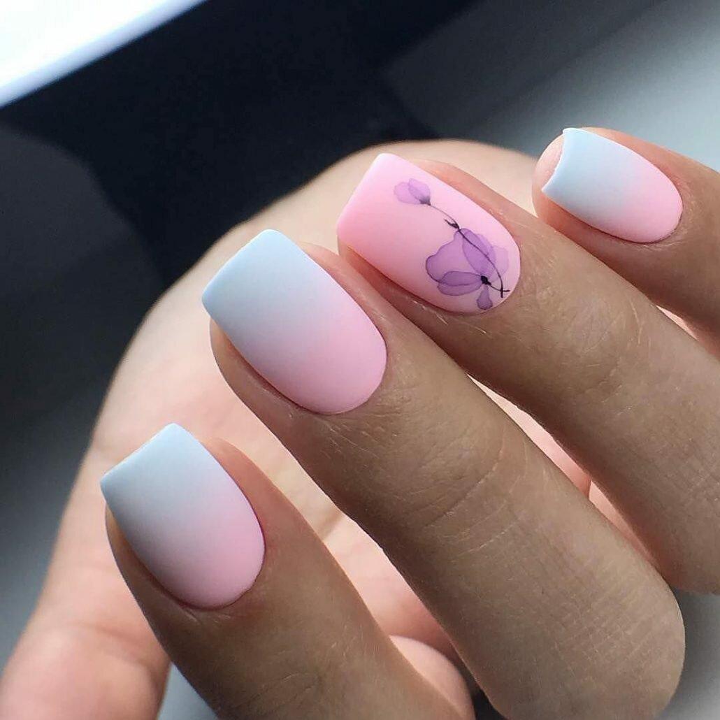 Летний дизайн ногтей для любителей квадратной формы